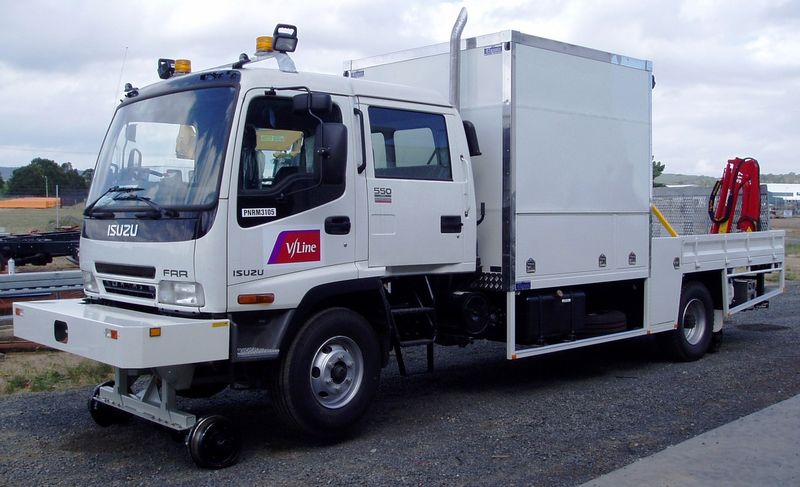 Vehicles - Isuzu Truck