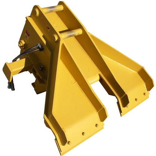 Rail Maintenance Platypus Concrete Sleeper Handler wide blade 250 cut out clip pusher and grab
