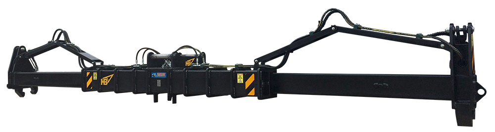 Rail Maintenance Extendable Rail Grab Extended