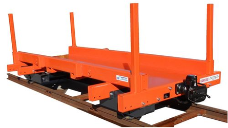 Rail Maintenance Sleeper Trailer
